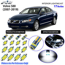 17 Bulbs LED Interior Dome Light Kit 6000K Cool White For 2007-2019 VOLVO S80