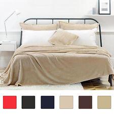 corail polaire couverture doux brillant canapé lit double polaire couverture