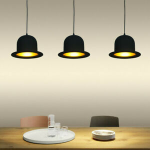 Black Bedroom Pendant Lights Kitchen Chandelier Light Coffee Shop Ceiling Light