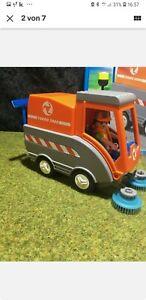 Playmobil Strassenkehrmaschine gut Erhalten Ohne OVP