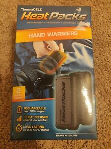 Thermacell Heat Packs Hand Warmers 2 pack