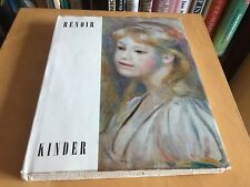 Auguste Renoir Kinder - German Language ? book buch 1961