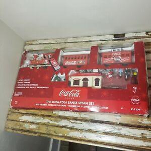 K-1309 COCA COLA Santa Steam Set Infra-Red Remote Control Train Set -K-LINE -