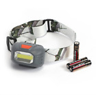 Ozark Trail 200 Lumen LED Headlamp with Batteries SNOW CAMO FAST FREE/SHIPPING!