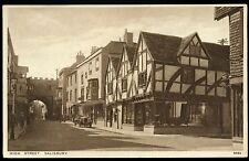 Unposted J Salmon Collectable Wiltshire Postcards