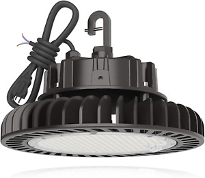 LED High Bay Light 150W 21,000LM (140LM/W) 1-10V Dimmable, 5' Cable with 110V