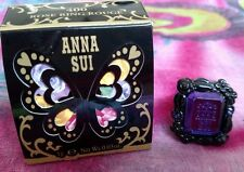 Anna Sui ROSE Ring Rouge Lip Gloss LIMITED Edition 400 Red Made in Japan NEW NIB