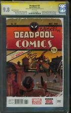 Deadpool 27 CGC 9.8 2X SS Barberi Posehn Detective Comics 27 Adams #1 Variant