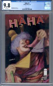 Haha #1  Image Comics  1st Print   CGC 9.8
