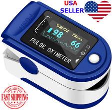 Finger Tip Pulse Oximeter Blood Oxygen Meter Spo2 Heart Rate Monitor Saturation