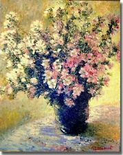 Vase of Flowers by Claude Monet Museum-Wrapped Canvas Art (30 in x 24 in)