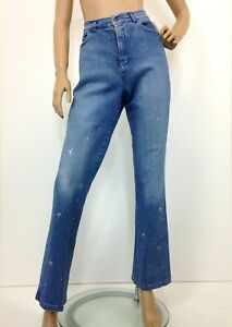 Vintage high waisted jeans Bianca Maria Caselli Stretch boot cut label size 16