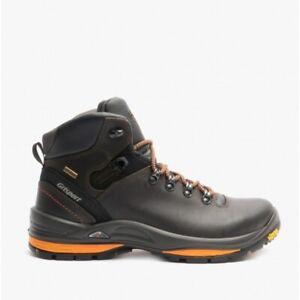 Grisport SARACEN Mens Leather Trekking Boots Brown