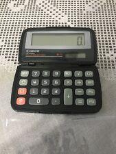 "Canon 8-Digit Fold Pocket Calculator Dual Power 4-1/3""x2-2/3""x3/5"" CCL LS555H"