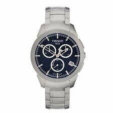 Tissot Men's Sport Titanium Bracelet Chronograph Quartz Watch T0694174404100