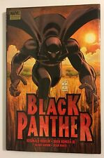 Marvel BLACK PANTHER Who Is The Black Panther PREMIERE EDITION HARDCOVER HC