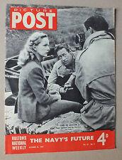 ANCIEN MAGAZINE - PICTURE POST - N° 4 VOL. 37 - 25 OCTOBRE 1947 *