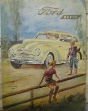 * Ford Revue Heft 4 - September  1950 -  Zeitschrift *