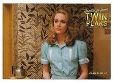 TWIN PEAKS GOLD BOX POSTCARD #21 PEGGY LIPTON AS NORMA JENNINGS POST CARD