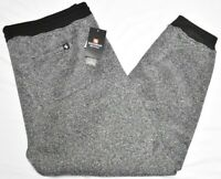 Southpole Jogger Pants Men Fleece Sweatpants Marled Black Big & Tall Urban P355