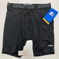 NWT Starter Dri-Star Black Mesh Gym Basketball Shorts Athletic Mens Size Small