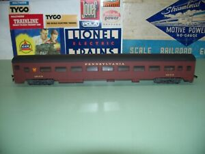 HO SCALE RIVAROSSI COACH SMOOTH SIDE PASSENGER CAR #1523
