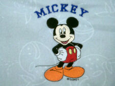 personalize with your childs name boy / girl mickey mouse bassinet blankets