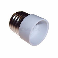 4 Sockel Adapter von E27 auf E14 Lichtadapter Adaptersockel Lampen Lampensockel
