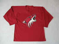 CCM Phoenix Coyotes Hockey Jersey Youth Extra Large Red NHL Kids Boys *