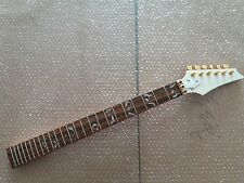 electric guitar neck maple 24 fret and golden tuners parts for Ibanez style