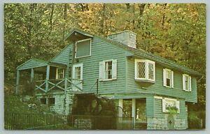 Dayton Ohio~Grist Mill Historical Exhibit In Carillon Park~Vintage Postcard