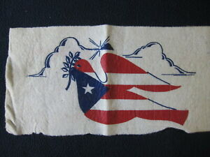 Felt with Patriotic American Flag Dove - Includes Shipping!