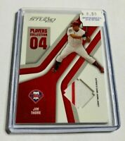 R9557 - JIM THOME - 2004 DONRUSS STUDIO - PLAYERS COLLECTION - JERSEY - #89/150