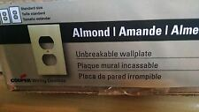 50 Pack - Almond Unbreakable Wallplate - 5132A-L 315437 *New*
