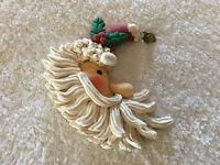 Vintage Classic Santa Christmas Ornament