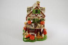 Halloween 2002 AVON Ceramic House Tea Lite Holder