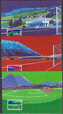 LIECHTENSTEIN 1982 MK 32 MiNr.799 - 801  Fußball WM Spanien ( d 3437 )