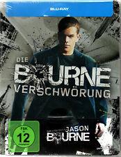 Blu-Ray - DIE BOURNE VERSCHWÖRUNG - Limited Steelbook NEU + OVP in Folie!