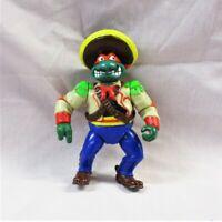 *VINTAGE* 1992 TMNT Raphael Figure w/ Sombrero Teenage Mutant Ninja Turtles (QW)