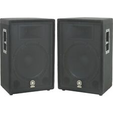 Yamaha A15 Loudspeaker Pair Unpowered PA Speakers