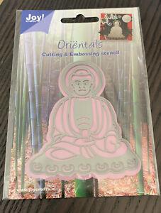 Joy Crafts Oriental Buddha Metal Cutting & Embossing Die Stencil Card Making