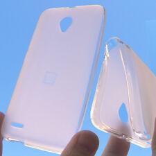 Cover per Vodafone Smart 6 Prime LTE 895N Custodia silicone anti-shock bianca
