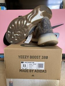 Adidas Yeezy Boost 380 Mist Mens Size 11 New with Box DS FX9764 Free Shipping!