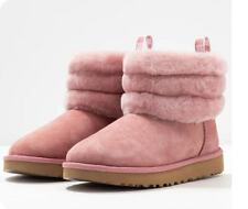 Ugg Australia Fluff Mini Quilted Damen Stiefel Winter Boots  Pink Dawn 41 NEU