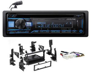 ALPINE Bluetooth CD Receiver USB/AUX SiriusXM For 2000-04 Nissan Xterra