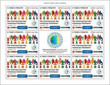 More details for sao tome & principe stamps 2020 mnh family remittances zona 4 upu corona 8v m/s