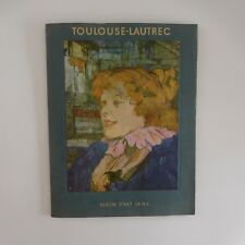 TOULOUSE-LAUTREC 7 planches album éditions art SKIRA Suisse 1966