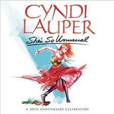She's So Unusual: A 30th Anniversary Celebration [Deluxe Edition] [Boxset] by Cyndi Lauper (CD, Mar-2014, 2 Discs, Epic)