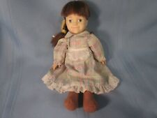 """vintage cloth doll 1978 Carrie from Little House on the Prairie 12"""""""