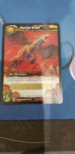 Mottled Drake World Of Warcraft Tcg WoW Unscratched Loot Card